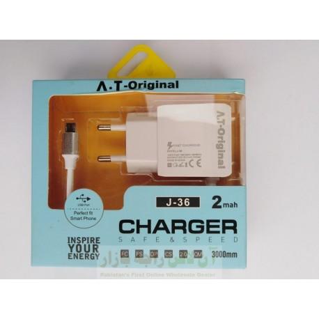 AT Original Charger 2.1A Micro 8600 J-36