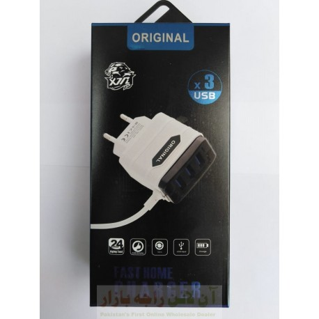 Original X3 Fast USB Charger Micro 8600