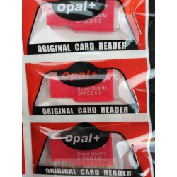 Opal Plus Mini Memory Card Reader