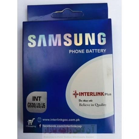 SAMSUNG J3-J5-G530 Battery Interlink High Performance