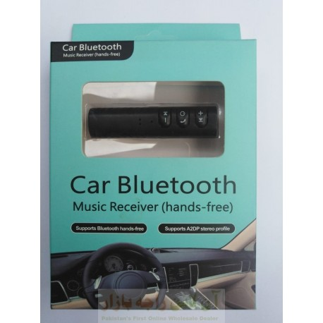 Car Bluetooth Music Receiver Hands Free Support