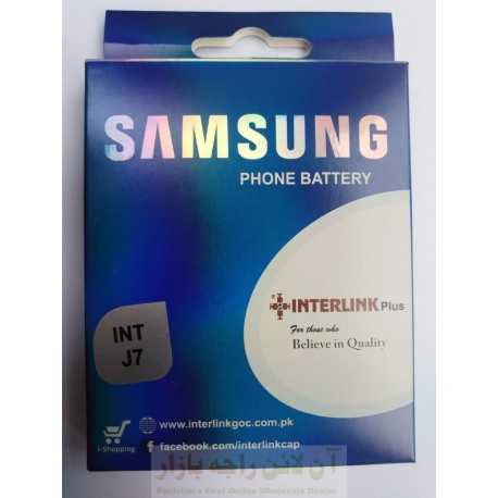 SAMSUNG J7 Battery Interlink High Performance