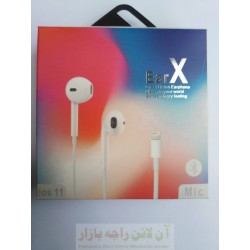 EarX Bluetooth Hands Free for iphone 5-6-7 to IOS 11