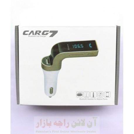 Car G7 Bluetooth Modulator and Charger