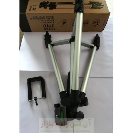 Foldable TriPod Full Length with DSLR Camera & Mobile Mount