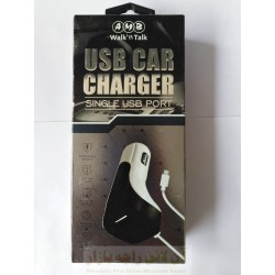 AMB Powerful Single USB Car Charger 3.4A Micro 8600
