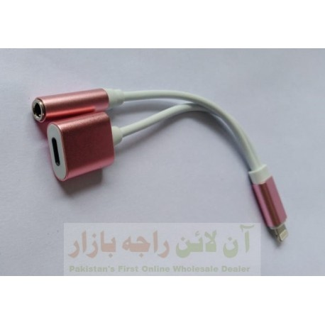 iphone Splitter Hands Free & Charging at Same Time Splitter Cable