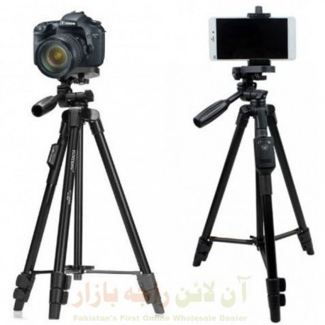 High Quality Bluetooth Pro Tripod with Camera & Mobile Mount