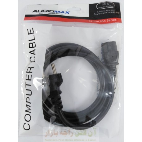 High Quality AUDIOMAX Computer Power Cable