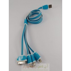 4in1 Data Cable for All iphone Model - Micro 8600 & Type C