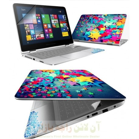 3in1 Flexible Laptop SKIN Paper Skin Protection Wrapper