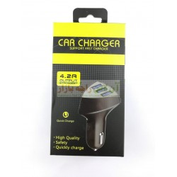 Quick Charge Fast Car Charger 4.2A