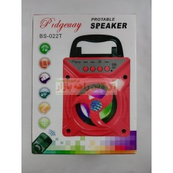 Portable Bluetooth FM MP3 Multimedia Speaker BS-022T