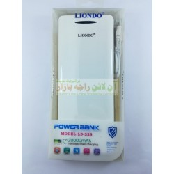 LIONDO Power Bank 20000 mAh LD328 Fast Charging