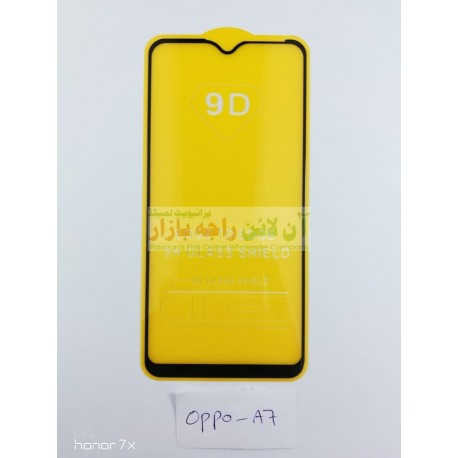 9D Glass Protector for OPPO A7