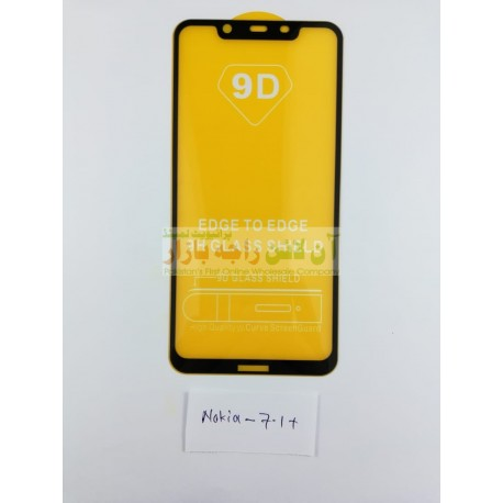 9D Glass Protector for NOKIA 7.1 Plus