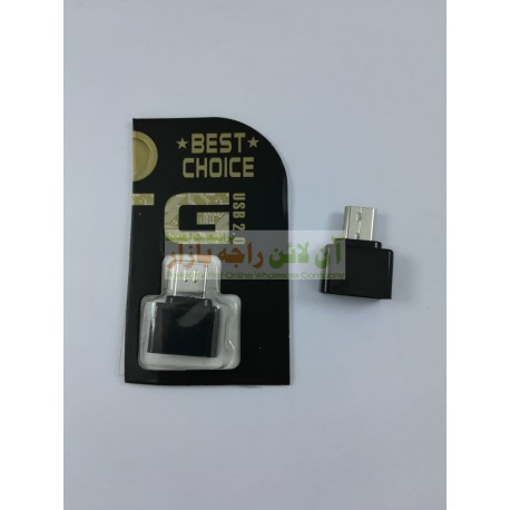 Best Choice USB OTG Connector USB to Micro 8600