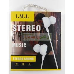I.M.L Stereo Flat Back Earphone