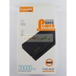 YOSONDA Quick Charge 20000mah Power Bank