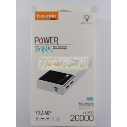 YOSONDA Quick Charge 20000mah A-07 Power Bank