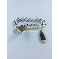 Silk Data Cable Cotton Core Micro 8600