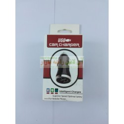 Intelligent USB Car Charger Dual USB 2A
