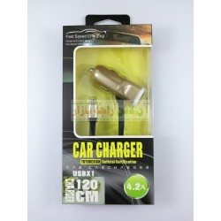 TOTUDESIGN Car Charger Certified 4.2A Fast Charging Micro 8600