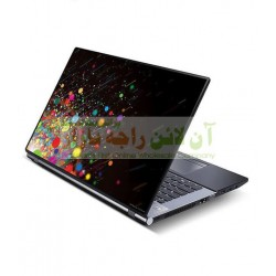 Beautiful Laptop Back Skin Protection Sheet Textured