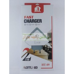 HT Jenny 2USB Fast Charger 2.1A Micro 8600 HT-09