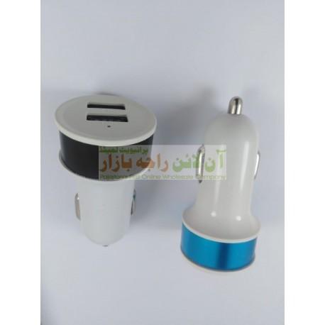 Durable 2-USB Car Charging Adapter