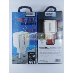 Travel Companion Dual USB Charger 2.1A