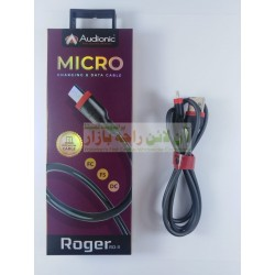 Audionic Roger Flexible Fast Charging Data Cable 8600