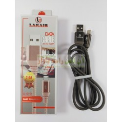 Branded Laraib Copper Core Auto Grip Data Cable