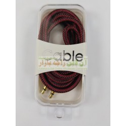 Pro Quality Cotton Core AUX Cable
