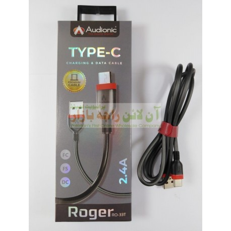 Audionic Roger RO-033 Type-C Data Cable