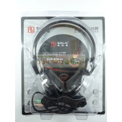 Solic Stereo Pure Voice Headphone SLR-30
