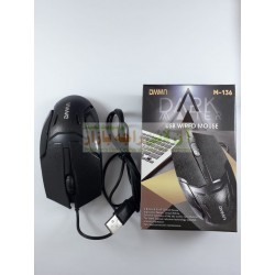 Soft Click DMMN USB Wired Mouse M-136