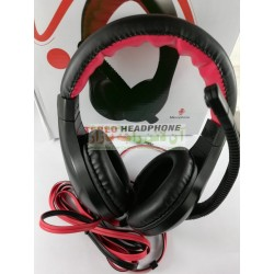 JiTuo Leather Build Head Phone with Mic JT-1988