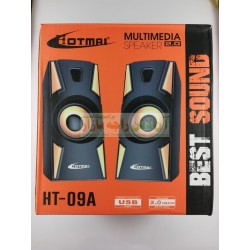 HotMai Multimedia USB Computer Speaker HT-09A