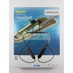 Extended Battery Wireless Bluetooth HeadSet RT-586