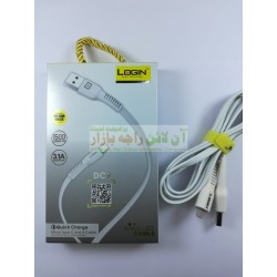 Quick Charge Login Data Cable Changing LED Lights 1500mm 3.4A Output Micro 8600