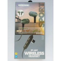 Super Quality Magnetic Wireless Headset RT-667