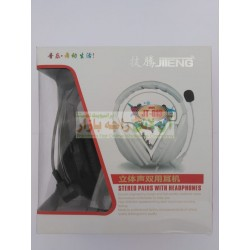 JITENG JT-813 Stereo Computer Head Phone with Mic