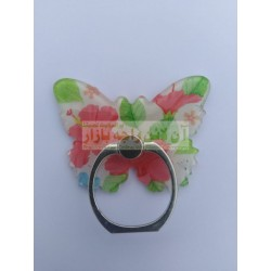 Butterfly Design Mobile Back Ring