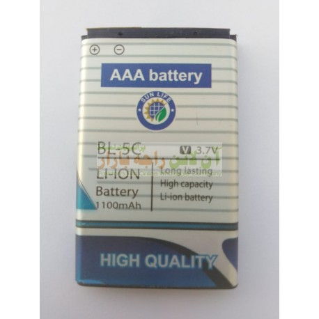 AAA Sun Light Better Quality 5C Nokia Battery