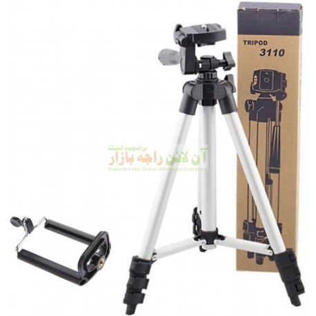 Foldable TriPod Full Length with DSLR Camera & Mobile Mount