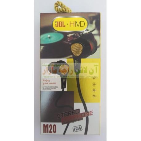 JBL HMD Quality Sound Stereo Earphone M20