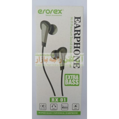 EROREX Super Base Hi-Fi Earphone RX-01