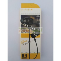 Super Bass K-4 HandsFree for Music & Calls
