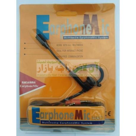 New Generation Multimedia Earphone Mic System